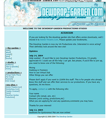 2004 - The Dewdrop GardenTH.png