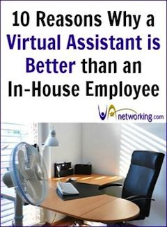 Reasons Why a Virtual Assistant (VA) is Better than Hiring an In-House Office Assistant