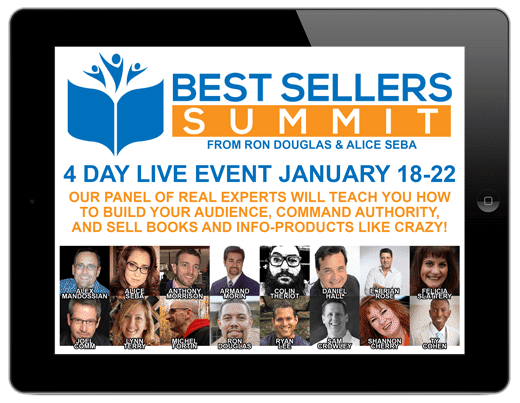 Become a Best Successful Author in 2016 at Best Sellers Summit