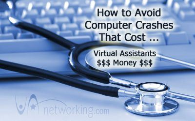 How to Avoid Computer Crashes That Cost Virtual Assistants Money