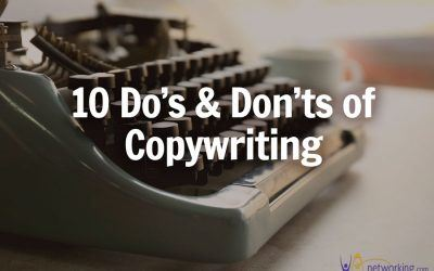 10 Do's and Don'ts of Copywriting