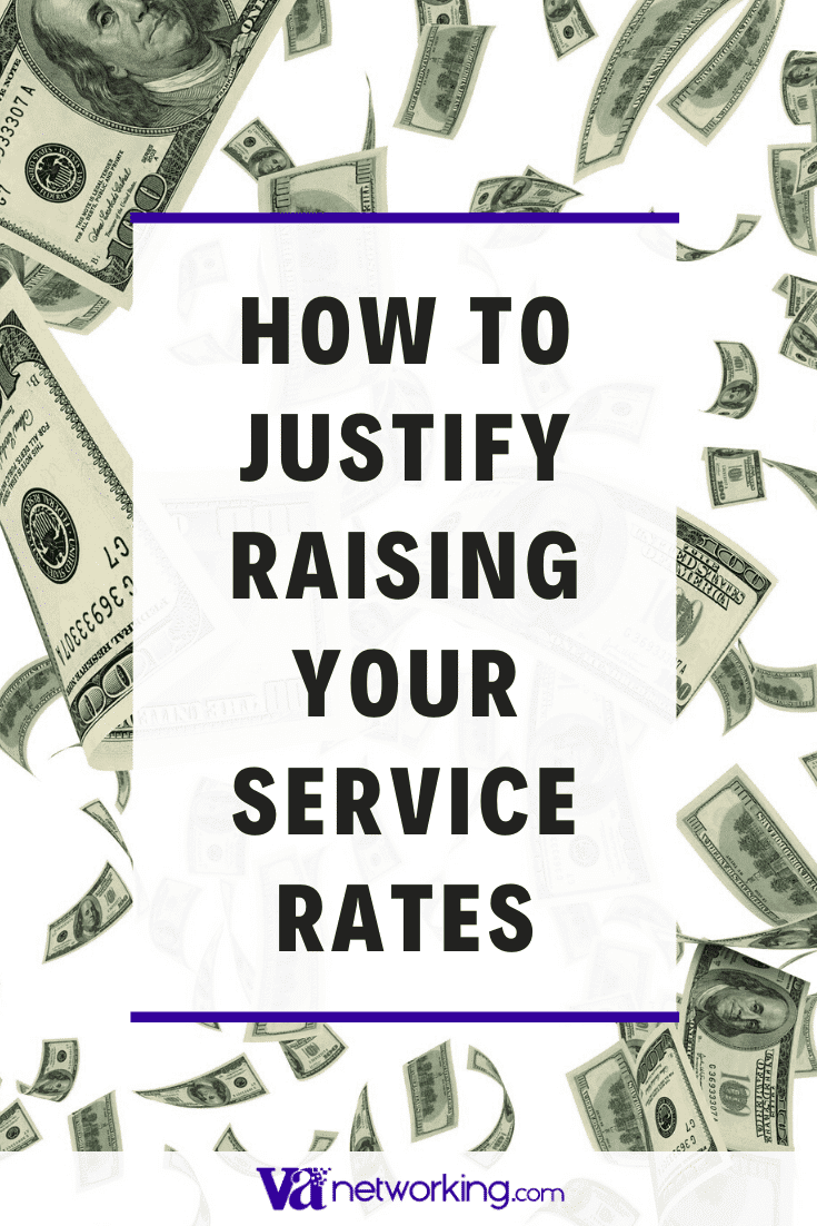 How to Justify Raising Your Service Rates