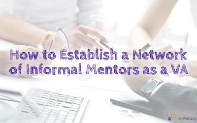 How to Establish a Network of Informal Mentors as a VA