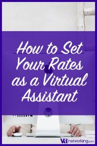 How to Set Rates as a Virtual Assistant