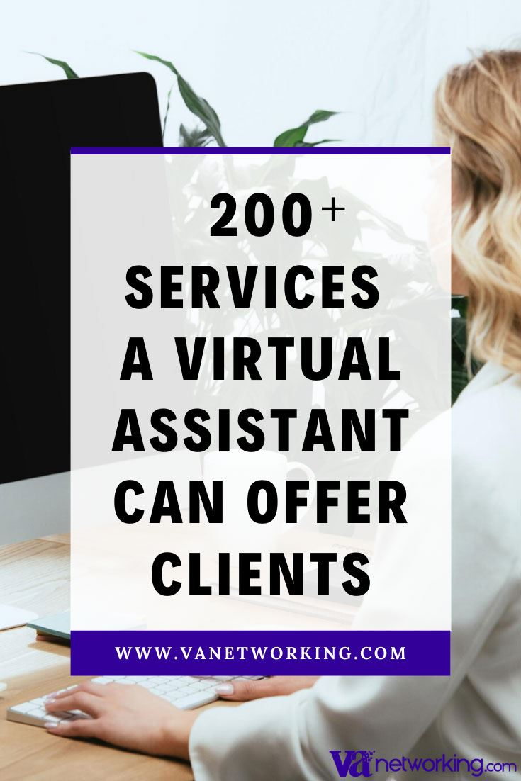 Services Virtual Assistants Can Offer