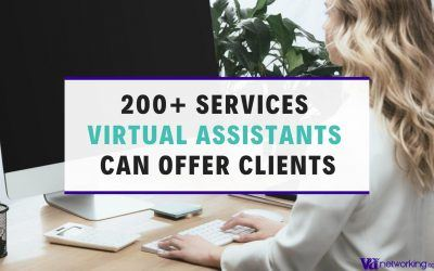 200 Services a Virtual Assistant Can Offer Clients