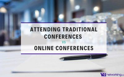 Attending Traditional Conferences VS Online Conferences