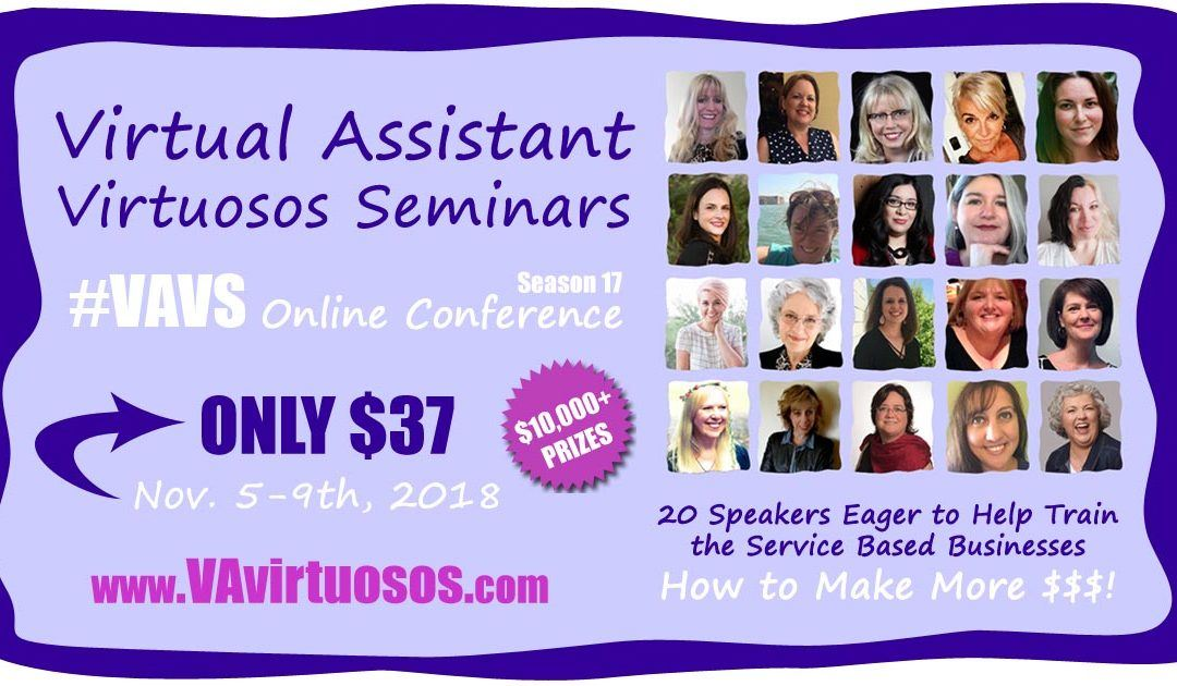 #VAVS 17 Online Virtual Assistant Conference Tickets Now on Sale. Got Yours?