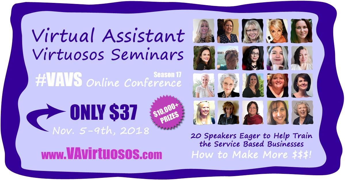 VAvirtuosos Virtual Assistant Seminar Series