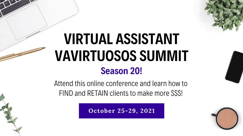 Virtual Assistant VAvirtuosos Summit Season20