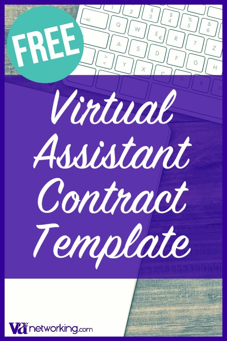 FREE Virtual Assistant Contract Template