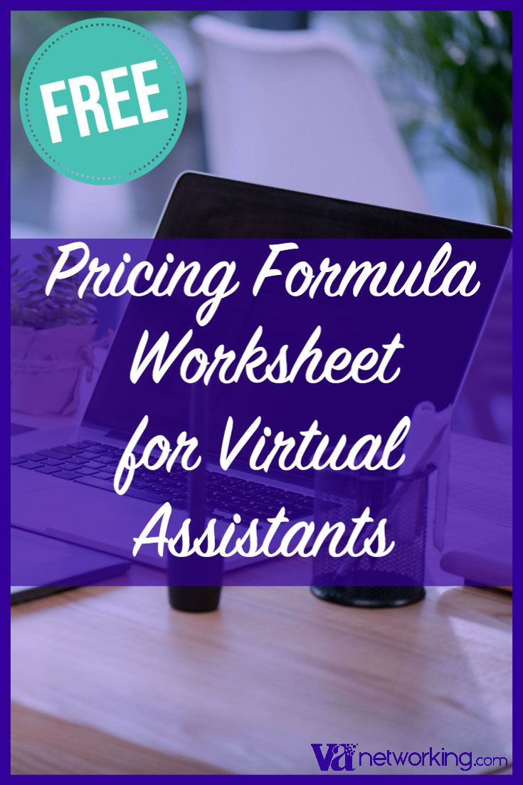 Virtual Assistant Services Pricing Worksheet