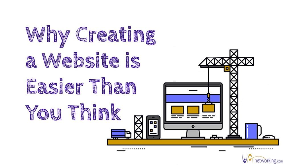 Why Creating a Website is Easier Than You Think