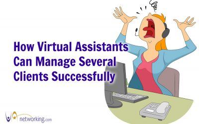 How Virtual Assistants Can Manage Several Clients